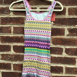 NWT Mossimo Supply Co. Patterned Tank Top